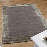 Комбинированые ковры из шерсти и вискозы бежевые, фото 2
