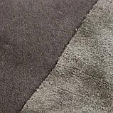 Комбинированые ковры из шерсти и вискозы бежевые, фото 4