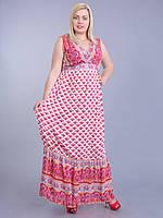 Платье коралловое,  46-48 размеры, фото 1