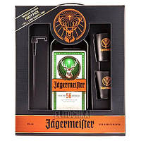 Jagermeister 1,75L With 2 Shots and Pump