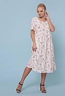 Нежное женское платье больших размеров