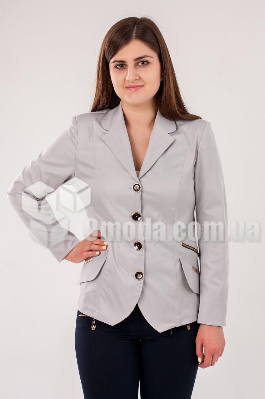 Пиджак женский Турина Грей