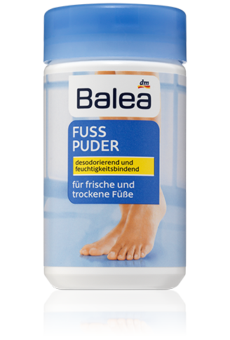 Balea кальк присыпка для ног Fuss Puder 100г