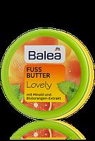 Balea Lovely Fussbutter масло с мятой и экстрактом апельсина 100мл