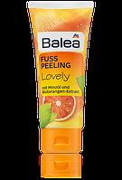Balea Lovely пилинг FUSS PEELING LOVELY с мятой и апельсином 100мл