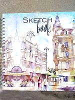 Альбом Скетчбук 205х205мм СБ-3 40л чистый лист