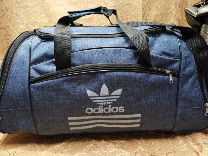 (64*32)дорожня сумка Спортивна ADIDAS месенджер тільки оптом