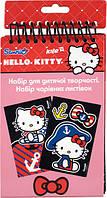 Набір листівок з оксамитом Hello Kitty HK14-219K