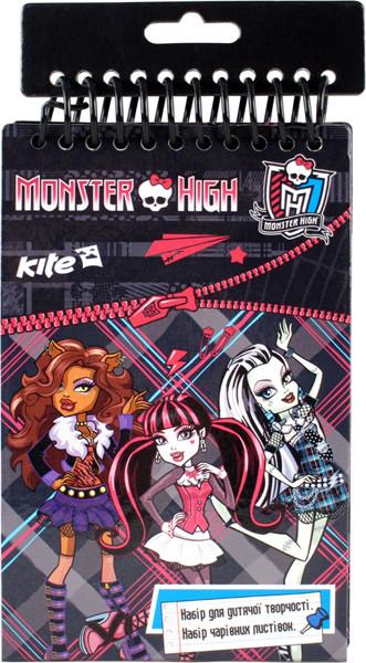 Набір листівок з оксамитом Monster Hight MH14-219K