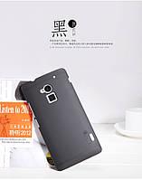 Чехол Nillkin для HTC One MAX чёрный (+пленка)