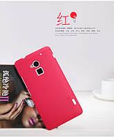 Чехол Nillkin для HTC One MAX красный (+пленка)