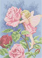 АМП-105. Набір алмазної мозаїки Трояндова фея