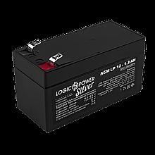 Аккумулятор AGM LP 12V - 1.3 Ah Silver