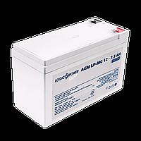 Акумулятор мультигелевый AGM LogicPower LP-MG 12 - 7,5 AH SILVER, фото 1