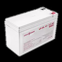 Аккумулятор гелевый LP-GL 12V - 7.5 Ah Silver