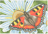 АМП-108. Набір алмазної мозаїки Метелик-кропив'янка.