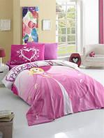Постельное бельё детского (подросткового) размера Комплект постельного белья для подростков Victoria ранфорс Prenses полуторный (код 946151)