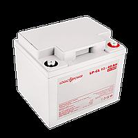 Аккумулятор гелевый LP-GL 12V - 40 Ah Silver