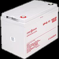 Аккумулятор гелевый LP-GL 12V - 100 Ah Silver