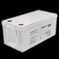 Акумулятор гелевий LogicPower LP-GL 12 - 200 AH SILVER