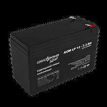Аккумулятор AGM LP 12V - 7.2 Ah Silver