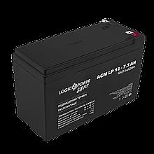 Аккумулятор AGM LP 12V - 7.5 Ah Silver