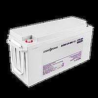 Аккумулятор мультигелевый AGM LP-MG 12V - 150 Ah Silver, фото 1