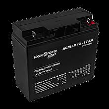 Аккумулятор AGM LP 12V - 17 Ah Silver