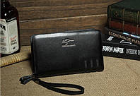 Мужское портмоне-барсетка KANGAROO KINGDOM—черная.
