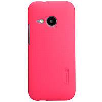 Чехол Nillkin для HTC One Mini 2 красный (+пленка)