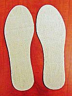 Стельки льняные (лен)
