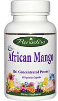 Капсулы для похудения  Африканский Манго, Paradise Herbs. Сделано в США. Быстрая доставка.