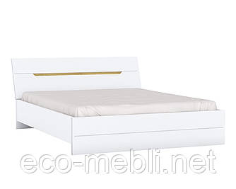 Двоспальне ліжко Z2 160х200 у вітальню Valles Дуб Камяний / Білий Blonski