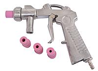 Пистолет для пескоструйной камеры объемом 90, 350л + 4 сопла керамических
