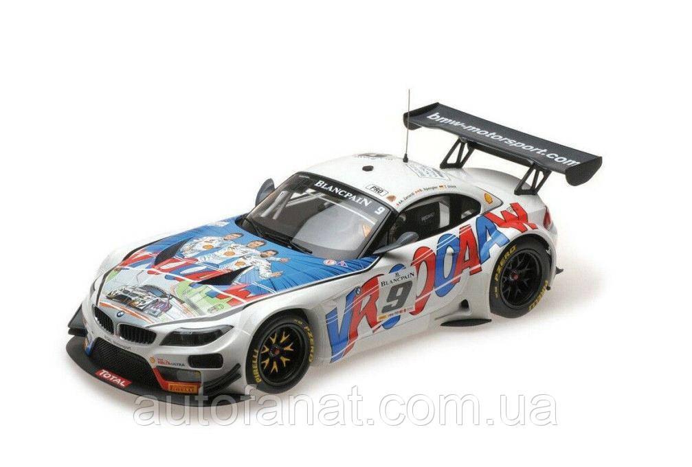 Оригинальная модель автомобиля BMW Z4 GT3 Michel Vaillant, 1:18 Scale (80432454834)