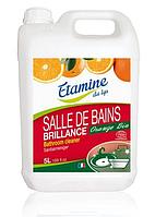 """Средство для мытья ванной комнаты органическое """"BRILLIANCE"""" Etamine du Lys,5 л"""