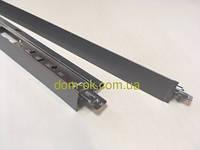 Профиль KRAFT Fortis  Т-24 металлик, RAL 9006 Т-24, 0.6м