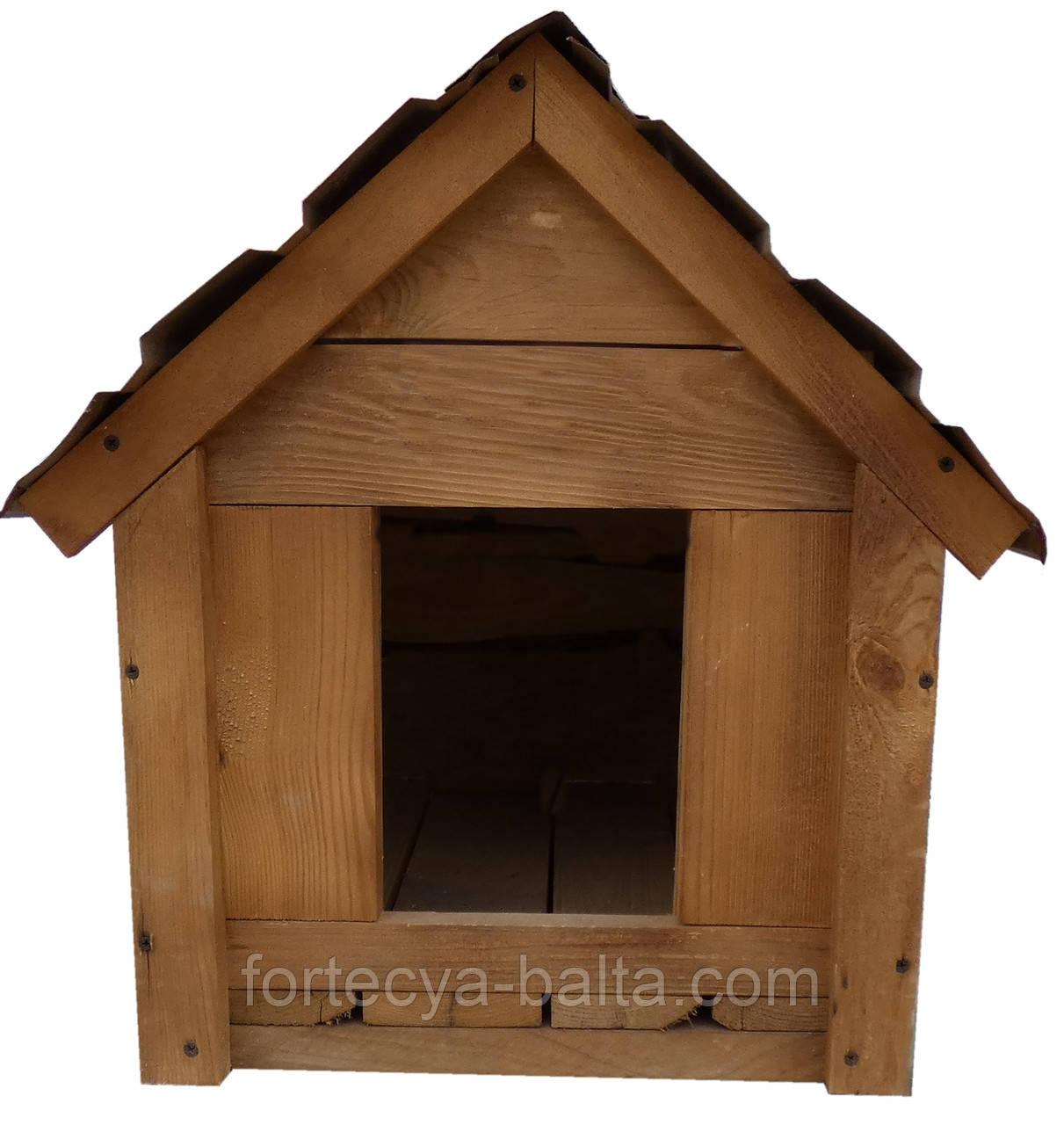 Будка для собака Фортеця №1 малая  540*390*540 сосна 9970662