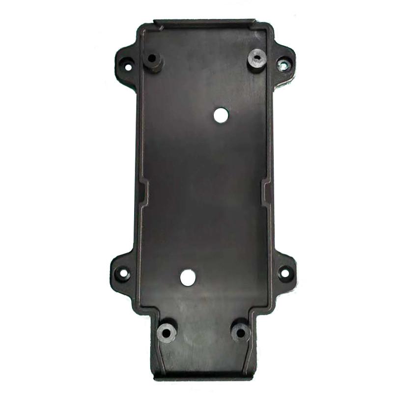 ElectroHouse Настенное крепление черное, пластик, для трекового LED светильника 30W
