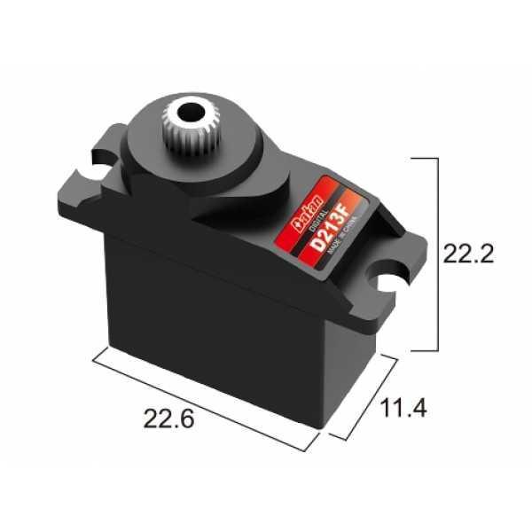 Сервопривод микро 11г BATAN D213F 2.0кг/0.11сек металл цифровой
