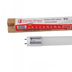 ElectroHouse LED лампа линейная T8 9W 60 см