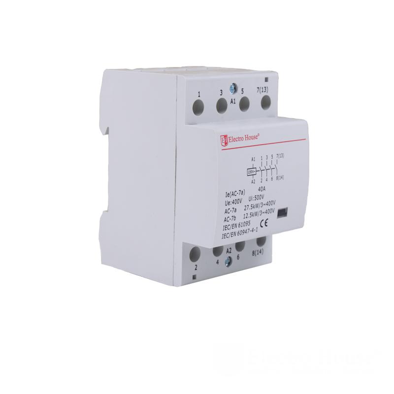 ElectroHouse Контактор модульный 40А 230V