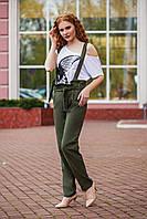 ДС041277 Женские льняные брюки