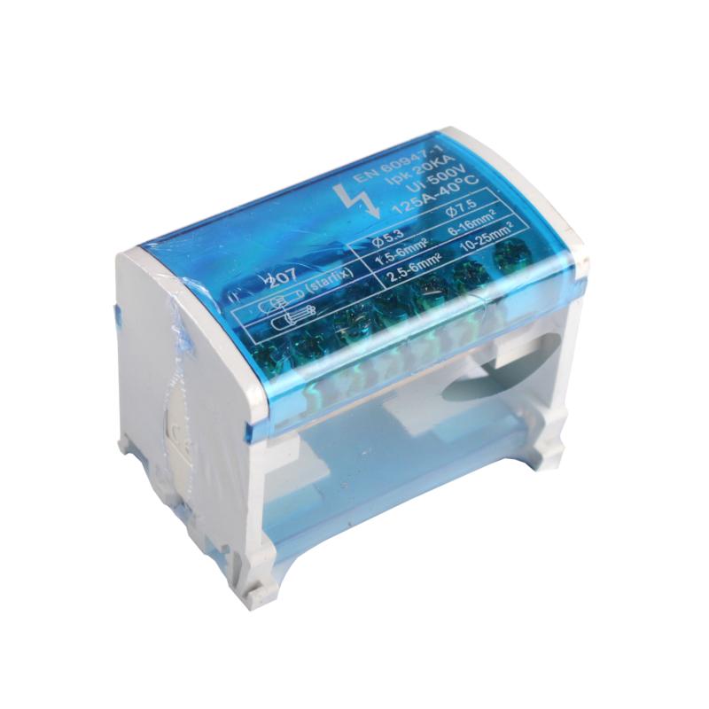 ElectroHouse Шина нулевая в корпусе (кросс-модуль) EH-BNS2X7