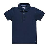 Рубашка поло для мальчика MEK   191MHFN008 синий  140-170