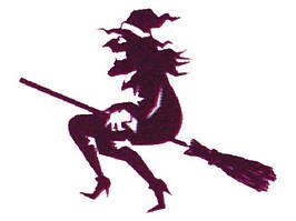 Флаг ведьмы 30 х 45 см