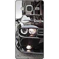 Чехол силиконовый бампер для Samsung Galaxy J3 J300 с рисунком Мустанг