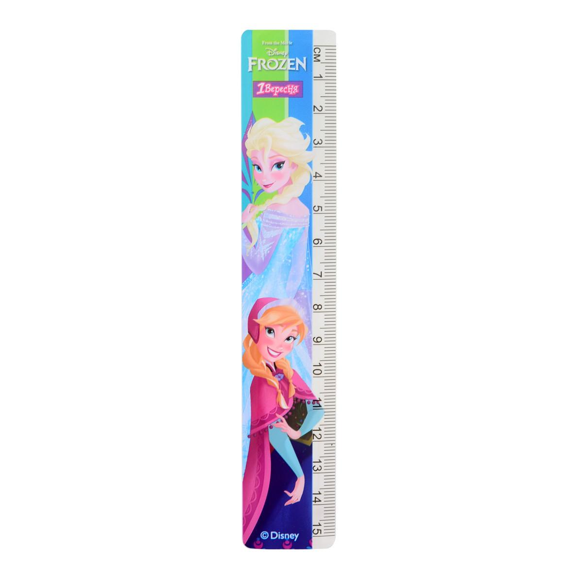 """Лінійка 15 см """"Frozen"""""""