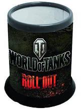 """Стакан для письменных принадлежностей разборной """"World of tanks"""""""