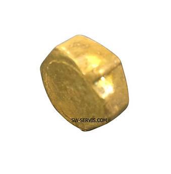 Латунная заглушка 1/8 дюйма с внутренней резьбой